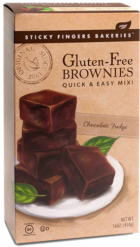 Gluten-Free Chocolate Fudge Brownie Mix