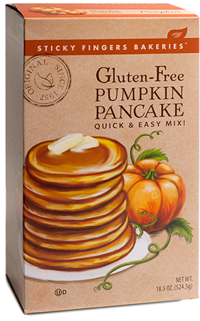 Gluten Free Pumpkin Pancake Mix - No more production for the season 10/23/20