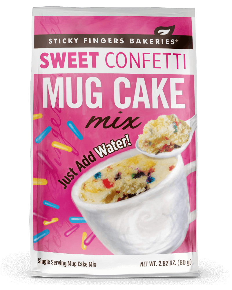 Sweet Confetti Mug Cake Mix