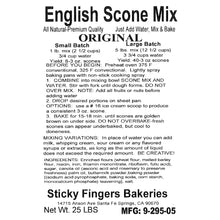 Load image into Gallery viewer, 25LB BULK SCONE MIX