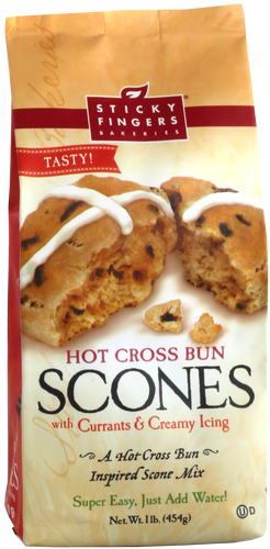 Hot Cross Bun Scone Mix