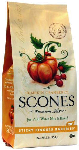 Pumpkin Cranberry Scone Mix