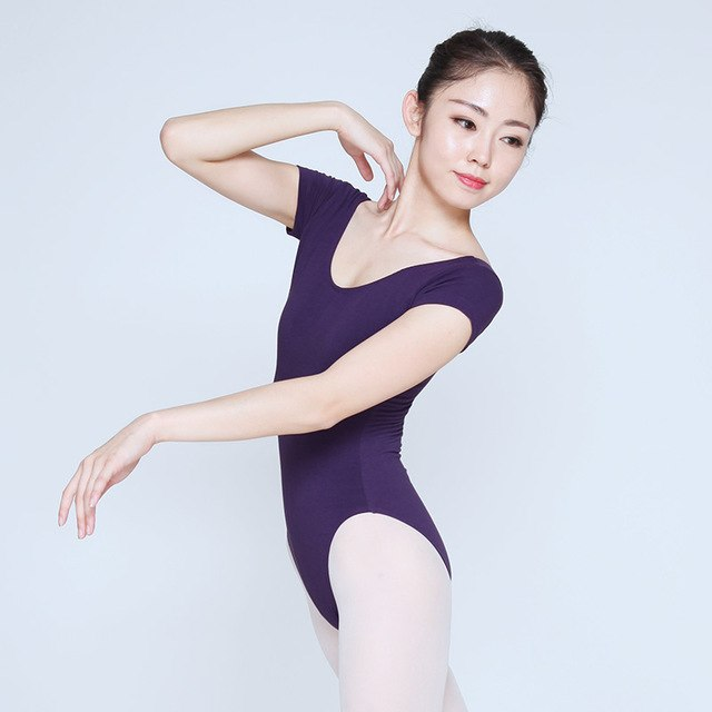 Basic Body Leotard with V cut