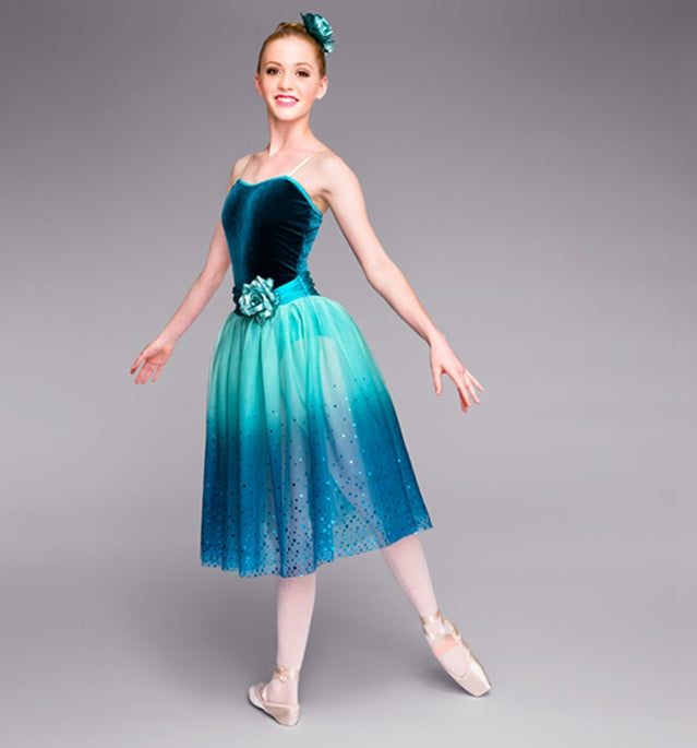 Royal Blue Turquoise Romantic Ballet Tutu