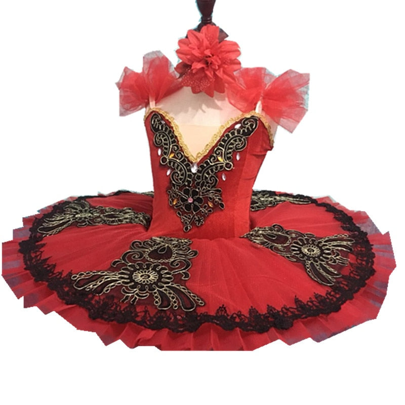 Spanish Red and Black Tutu