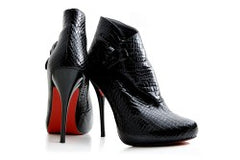 Christian Louboutin compares a good shoe to facial bone structure