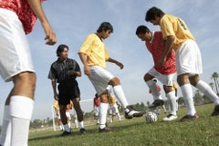 Journal articles may help soccer players avoid injury, bunions