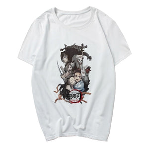 Anime Kamado Tanjirou Demon Slayer Kimetsu No Yaiba Unisex T Shirt