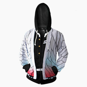 Anime Demon Slayer Kimetsu No Yaiba Cosplay Costume Hoodies