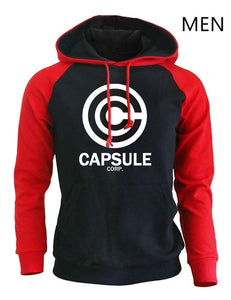 New 2018 Autumn Winter Fleece Raglan Sweatshirts Harajuku Anime DRAGON BALL Print Streetwear Hoodies Men Fashion Tracksuit K-pop
