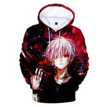 Load image into Gallery viewer, Tokyo Ghoul Hoodies 2017 New Fashion Funny Anime Hoodies and Sweatshirts 3d Tokyo Ghoul harajuku Hip Hop Men Women Clothing