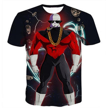Load image into Gallery viewer, Dragon Ball Z Men's Summer T-shirts 3D Printing Super Saiyan Kid Son Goku Black God Zamasu Vegeta Jiren Dragonball T Shirt Tops