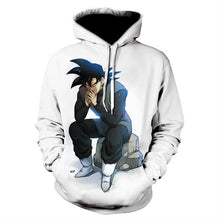 Load image into Gallery viewer, Seven dragon ball  Dragon Ball 3D Hoodie runaway  Dragon Ball Z Vegeta  Super Saiyan turned Hoodie