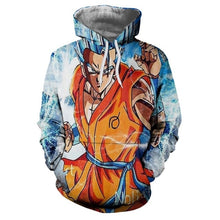 Load image into Gallery viewer, Anime Hoodies Dragon Ball Z Pocket Gohan Hoodies and Sweatshirts | Kid Goku 3D Hoodies