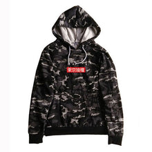 Load image into Gallery viewer, Fashion Mens Hoodie Tokyo Ghoul Anime Cosplay Hooded Harajuku Sweatshirt High Quality 1:1 Cotton Long Sleeve Hoody
