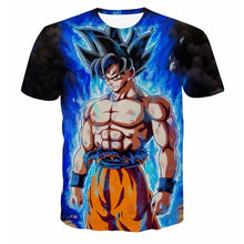 Load image into Gallery viewer, Dragon ball Tshirt 3D Men T-shits Anime T-shirt harajuku Comics Tops Goku Bal Z print Tee Fashion stranger things S-2XL