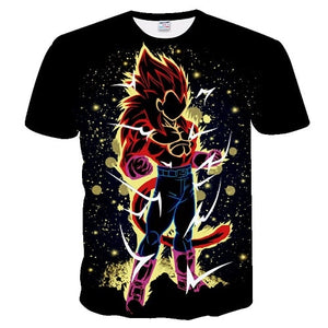 Anime Dragon Ball Z 3D Printed T-shirt