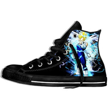Load image into Gallery viewer, Dragon Ball Z Shoes Mens 3D Shoes Super Saiya Son Goku Brolly Printed Sneakers Hombre Casual Shoes