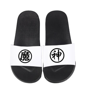 Soft Rubber Slippers Dragon Ball Print Anime Style Women Summer Flip Flops Light Weight Beach Water Sandals for Female H9084