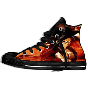 2019 Hot Fashion Dragon Ball Z Goku Sneakers Summer Saiyan Vegeta Harajuku Brand Lightweight Shoes