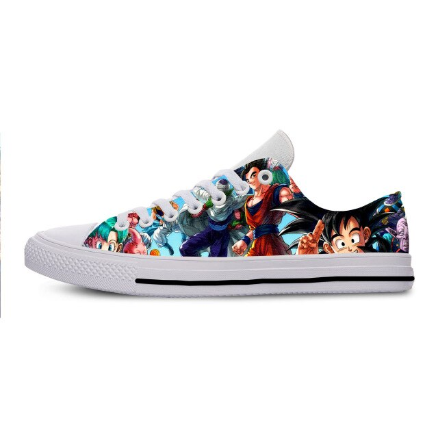 Dragon Ball Z High Quality 3D Printed Sneakers | Harajuku 3D Printed Dragon Ball Z casual shoes