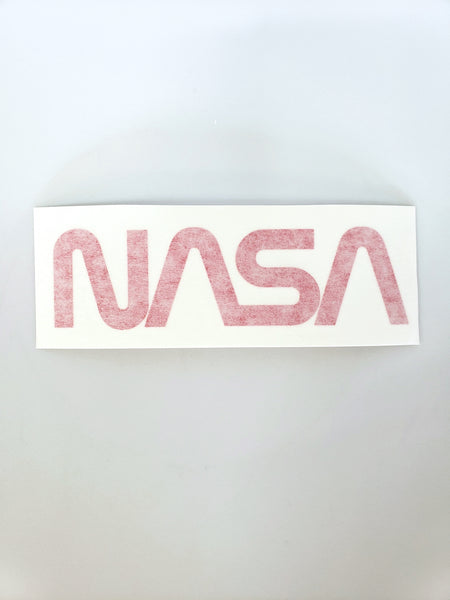 NASA Worm Logo Decal - THE STEMCELL SCIENCE SHOP