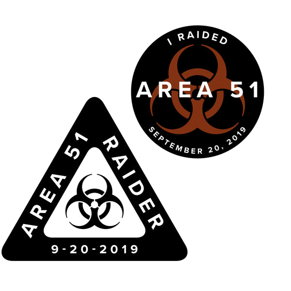 Area 51 Raid Sticker - THE STEMCELL SCIENCE SHOP