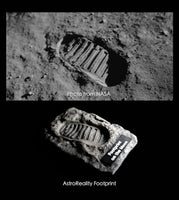 Footprint on the Moon AR Magnet