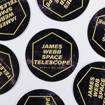 James Webb Space Telescope Round Sticker