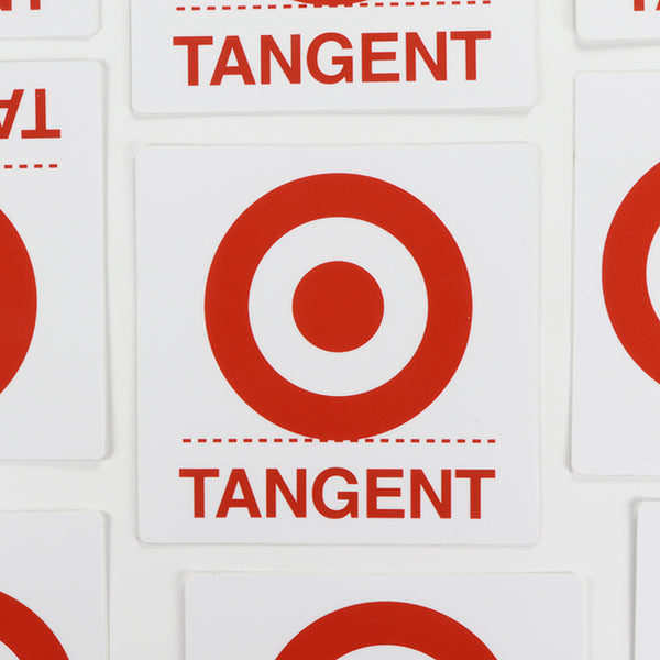 Tangent Sticker