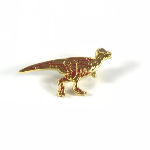 Pachycephalosaurus Enamel Pin - THE STEMCELL SCIENCE SHOP
