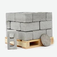 1:12 Scale Cinder Block Pallet - THE STEMCELL SCIENCE SHOP
