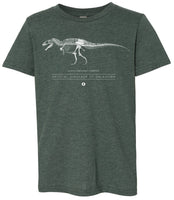 Acrocanthosaurus Youth Tee - THE STEMCELL SCIENCE SHOP