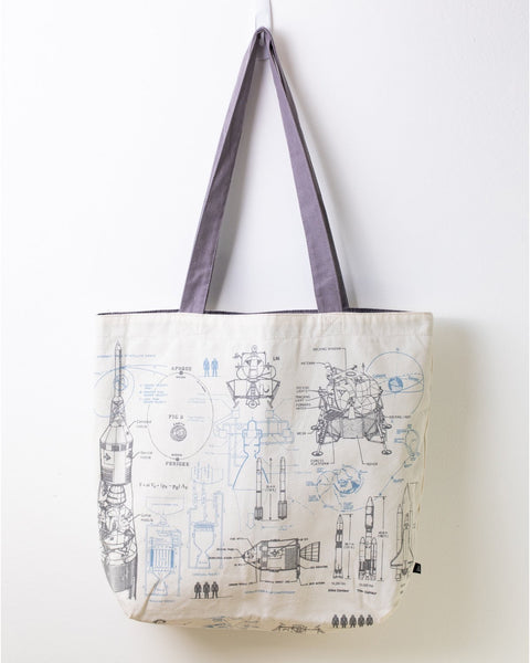 Space Canvas Tote - THE STEMCELL SCIENCE SHOP