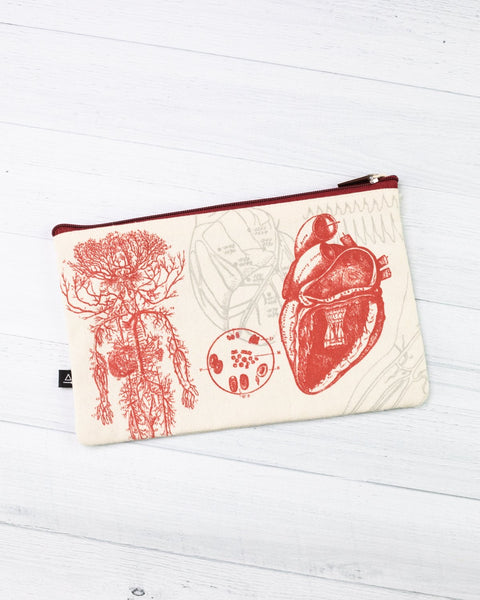 Heart Zipper Pouch - THE STEMCELL SCIENCE SHOP