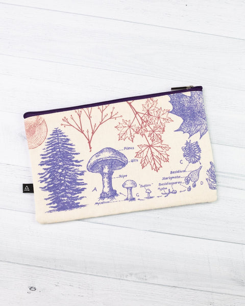 Trees and Forest Zipper Pouch - THE STEMCELL SCIENCE SHOP