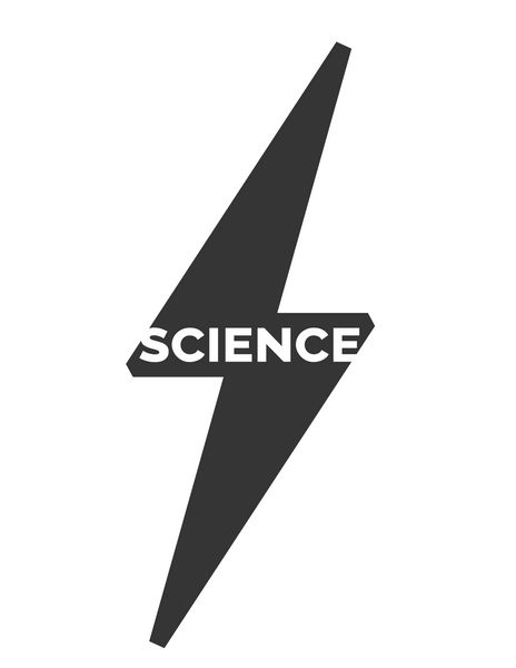 Science Bolt Sticker