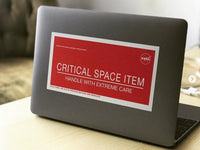 Official NASA Critical Item Indicator Sticker - The STEMcell Science Shop
