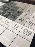 Future-Proof Periodic Table of the Elements - The STEMcell Science Shop