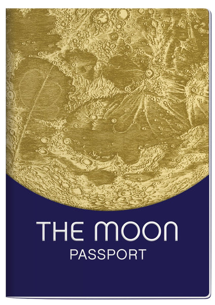 Moon Passport Notebook