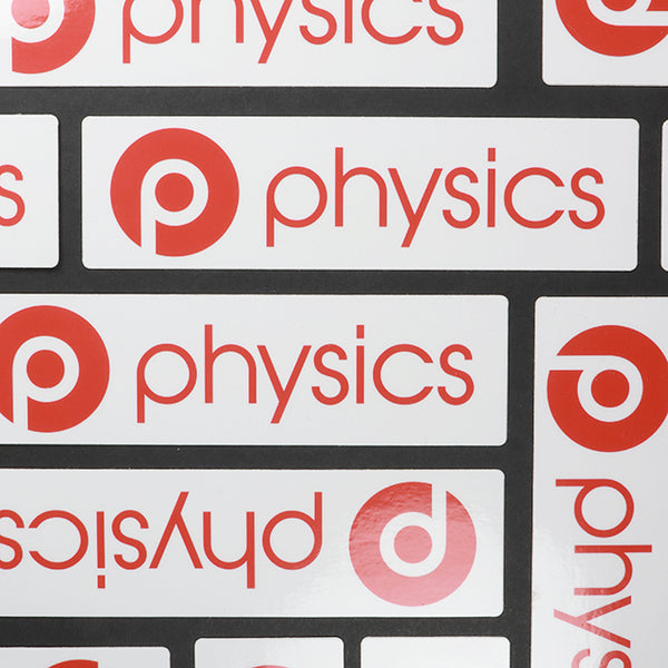 Physics Sticker - THE STEMCELL SCIENCE SHOP