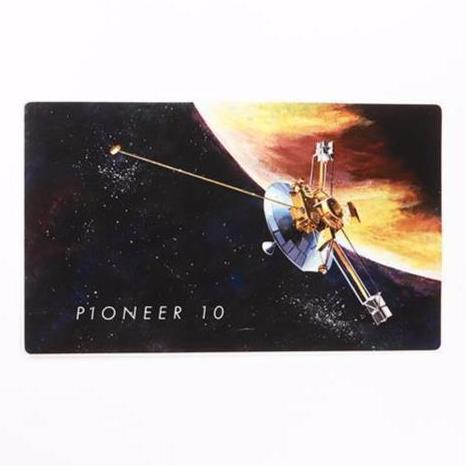 Pioneer 10 Sticker - THE STEMCELL SCIENCE SHOP