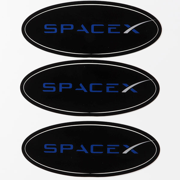 Spacex Oval Sticker