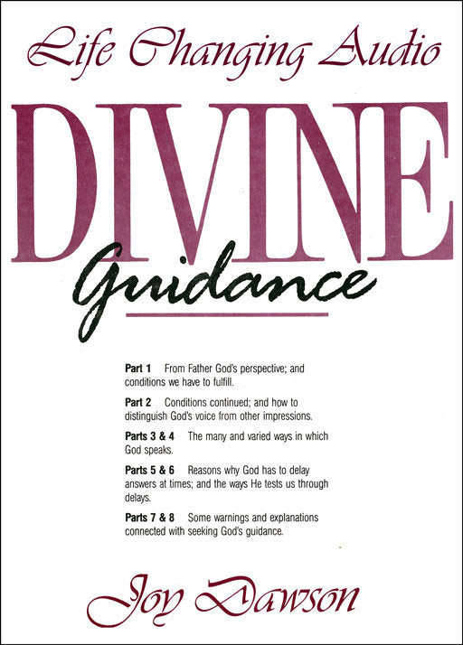 Divine Guidance (8 CD Series)