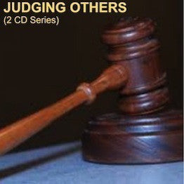 Judging Others (2 CD Series)