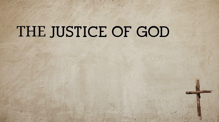 The Justice Of God (MP3)