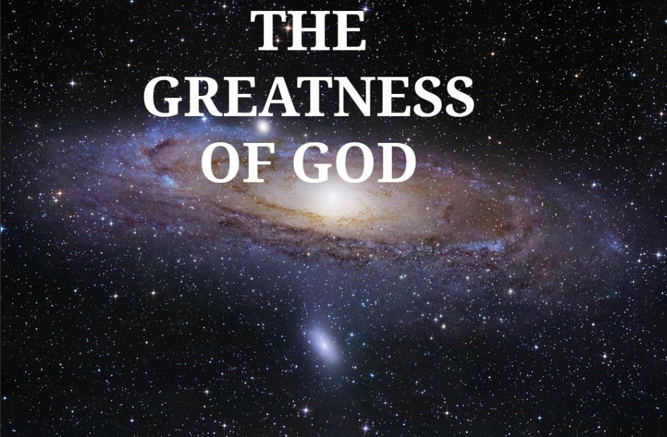 The Greatness Of God (MP3)