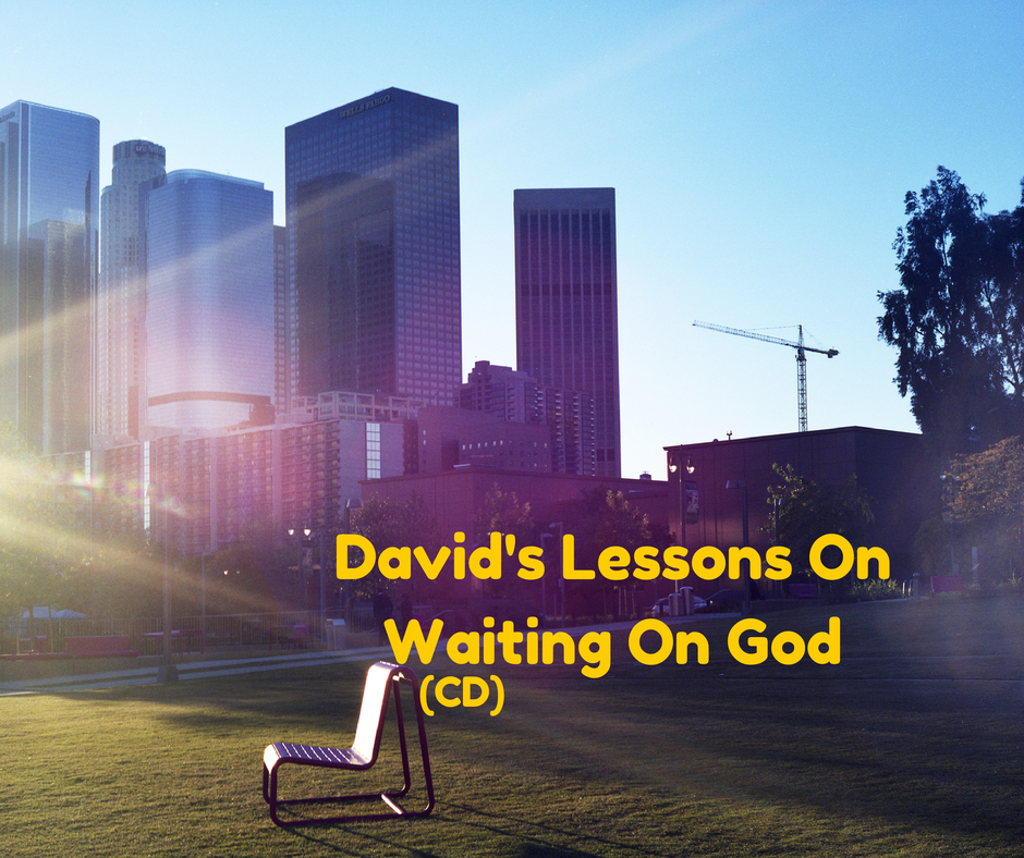 David's Lessons On Waiting On God (CD)