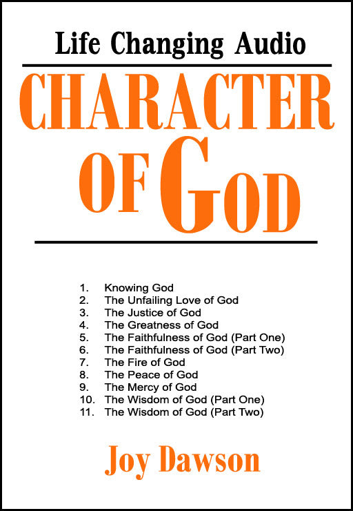 Character of God (11 CD Series)