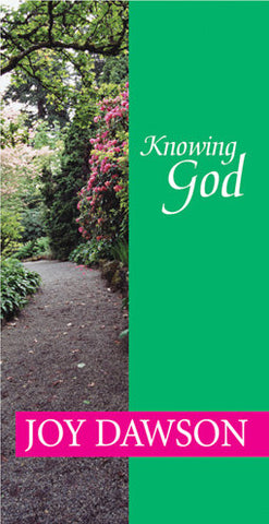 Knowing God - Booklet